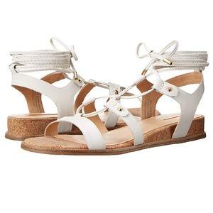 Aldo lali white leather gladiator sandal